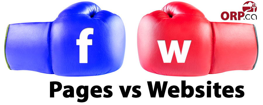 Top Three Reasons Facebook Pages Cannot Replace Your Website